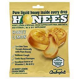 Honees® 20-Count Pure Honey Lemon Cough Drops