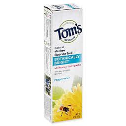 Tom's of Maine® 4.7 oz. Botanically Bright Whitening Toothpaste Peppermint