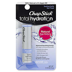 ChapStick® Total Hydration .12 oz. EZ-Twist Tube 100% Natural Lip Care in Soothing Vanilla