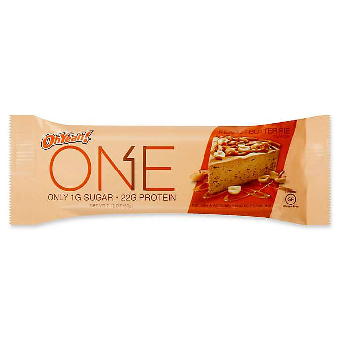 Alternate image 1 for Oh Yeah!® 2.12 oz. Protein Bar in Peanut Butter Pie