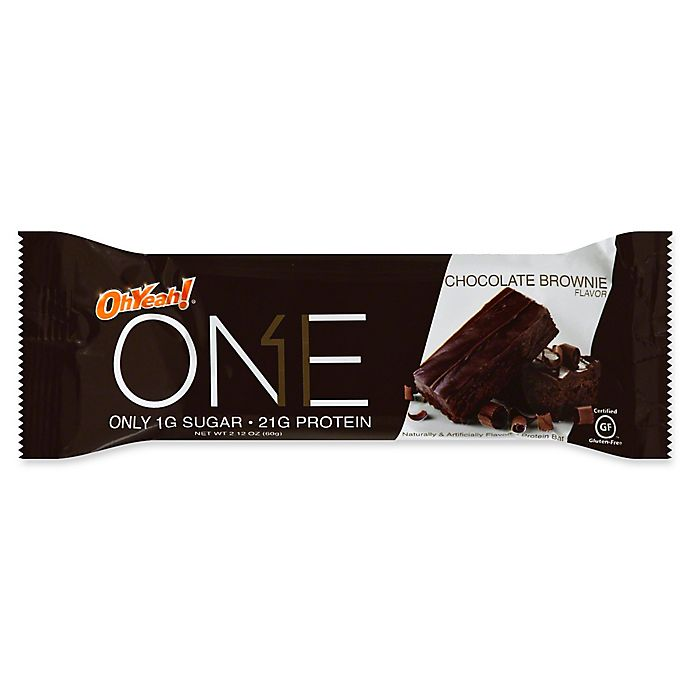 Alternate image 1 for Oh Yeah!® 2.12 oz. Protein Bar in Chocolate Brownie