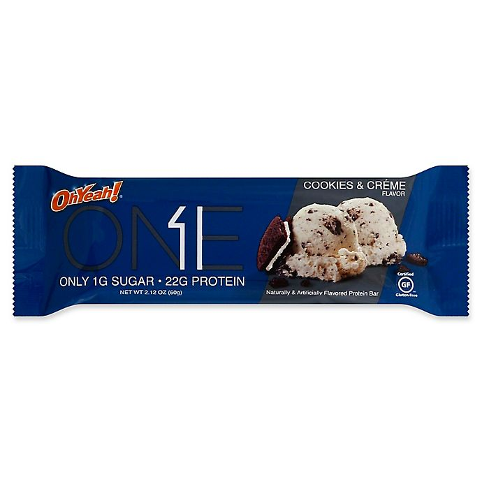 Alternate image 1 for Oh Yeah!® 2.12 oz. Protein Bar in Cookies & Cream