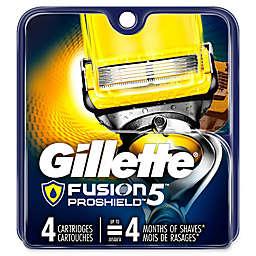 Gillette® Fusion® ProShield™5 4-Count Replacement Cartridges