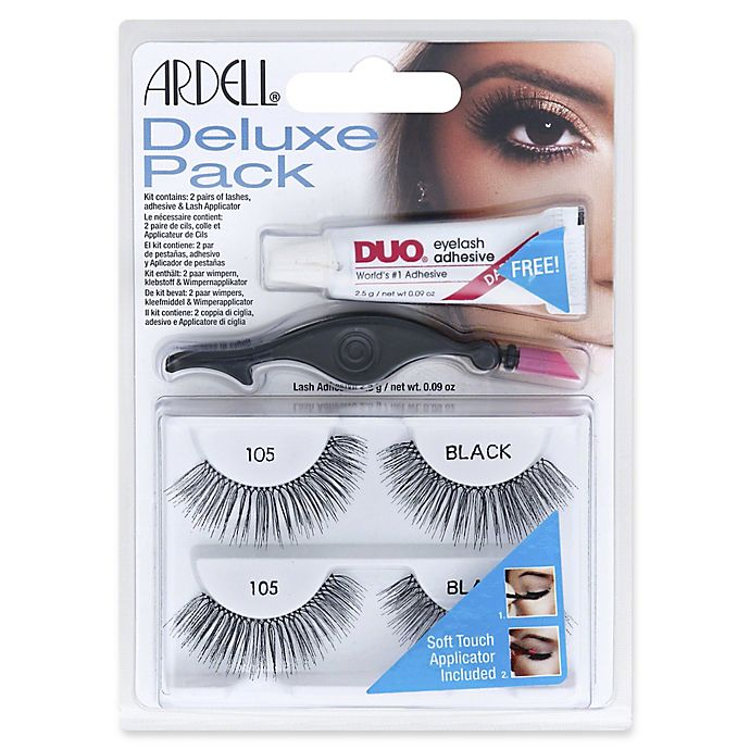 377cc7cd1a9 Ardell® 2-Count Deluxe Pack Lash Wisp in Black 105 | Bed Bath & Beyond