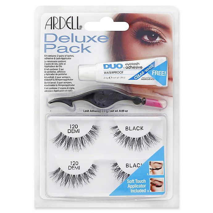 fc41e2ebb54 Ardell® 2-Count Deluxe Pack Lash Demi in Black 120   Bed Bath & Beyond