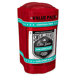 Old Spice® Hardest Working Collection 2-Count 2.6 oz. Sweat Defense Pure Sport Plus Sticks