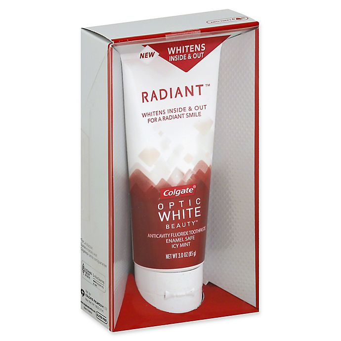 Alternate image 1 for Colgate® Optic White Radiant™ 3 oz. Whitening Toothpaste in Icy Mint