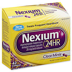 Nexium® 24 Hour Acid Reducer 42-Count Clear Minis 20 mg Delayed-Release Tablets