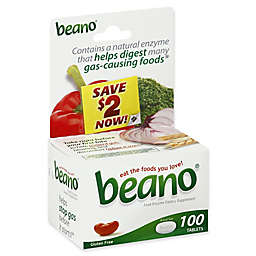 Beano® 100-Count Food Enzyme Tablets