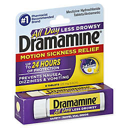 Dramamine® Less Drowsey Formula 8-Count Motion Sickness Relief Tablets
