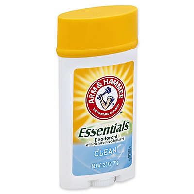 Arm and Hammer® 2.5 oz. Essentials Deodorant with Natural Deodorizers in Clean
