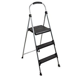 Cosco® 3-Step Signature Premium Folding Step Stool