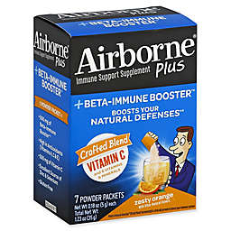 Airborne® Plus +Beta-Immune Booster™ 7-Count Zesty Orange Immune Support Powder Packets