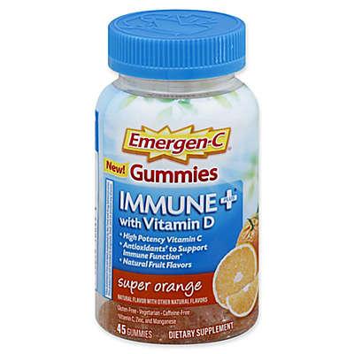 Emergen-C® 45-Count Immune Plus Gummies with Vitamin D in Super Orange