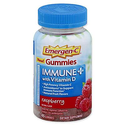 Emergen-C® 45-Count Immune Plus Gummies with Vitamin D in Raspberry