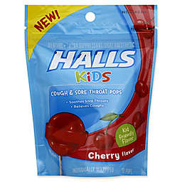 Halls 10-Count Kids Cough and Sore Throat Pops in Cherry