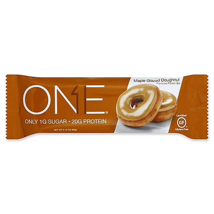 Alternate image 1 for OhYeah!® 2.12 oz. ONE® Protein Bar in Maple Glaze Doughnut
