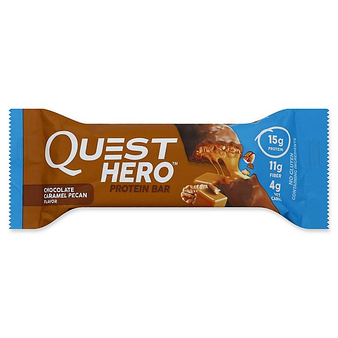 Alternate image 1 for Quest Nutrition 2.12 oz. Hero Protein Bar in Chocolate Caramel Pecan