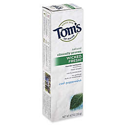 Tom's of Maine® 4.7 oz. Wicked Fresh! Fluoride Toothpaste in Cool Peppermint