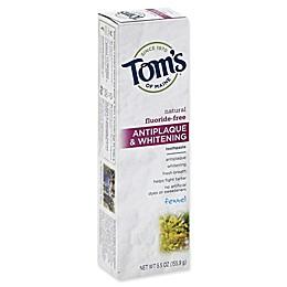 Tom's of Maine 5.5 oz. Antiplaque & Whitening Toothpaste in Fennel