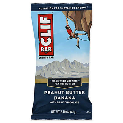 Clif Bar® 2.4 oz. Peanut Butter Banana with Dark Chocolate Energy Bar