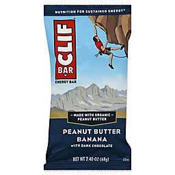 Clif Bar® 2.4 oz. Peanut Butter Banana with Dark Chocolate Energy Bar