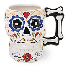Boston International All Saints Eve Skull Mug
