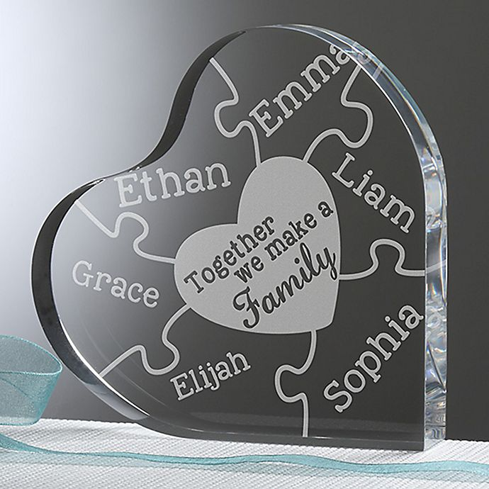 Alternate image 1 for Together We Make A Family Heart Keepsake