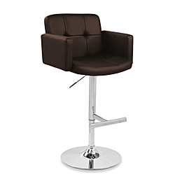 LumiSource Stout Bar Stool in Brown