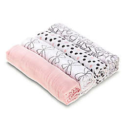 aden® by aden + anais® Love Sweet 4-Pack Cotton Muslin Swaddle Blankets