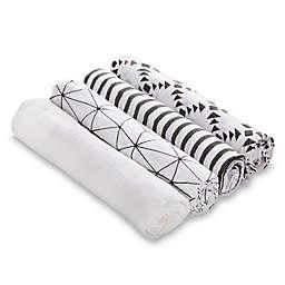 aden® by aden + anais® Criss Cross 4-Pack Cotton Muslin Swaddles