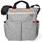 SKIP*HOP® Duo Signature Diaper Bag in Grey Melange