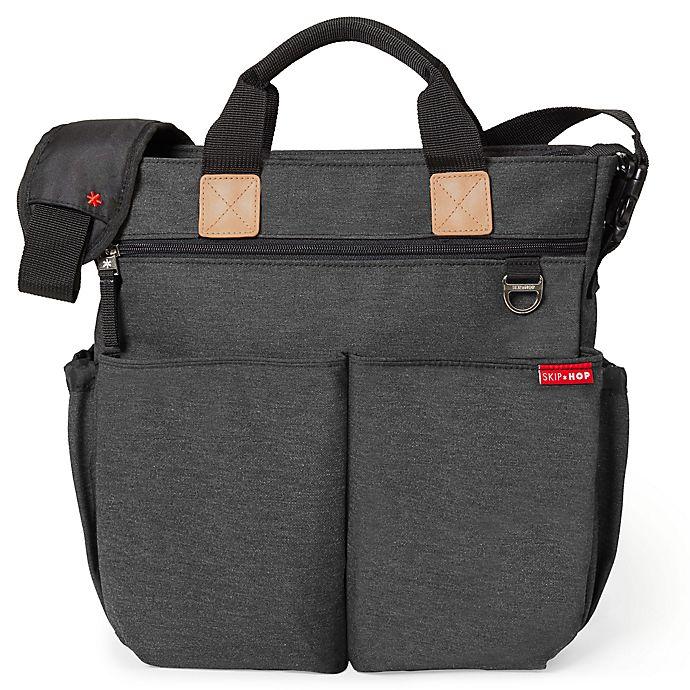 Skip Hop Duo Signature Diaper Bag In Soft Slate