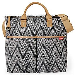 SKIP*HOP® Duo Special Edition Zigzag Zebra Diaper Bag in Black/White
