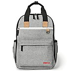 SKIP*HOP® Duo Diaper Backpack in Grey Melange