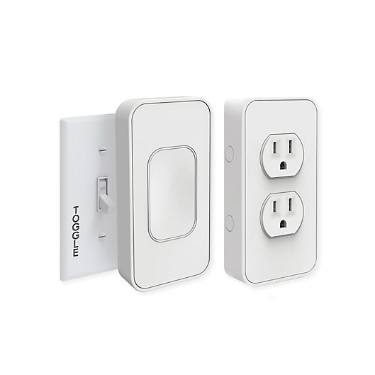 Alternate image 1 for SimplySmart Home Switchmate 2 -Pack Toggle Light Switch Set