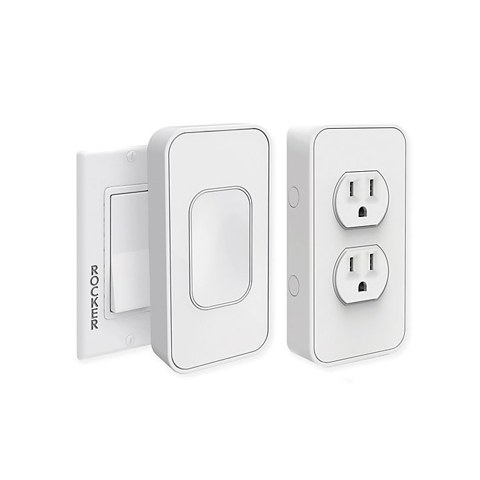 Alternate image 1 for SimplySmart Home Switchmate 2 -Pack Rocker Light Switch Set