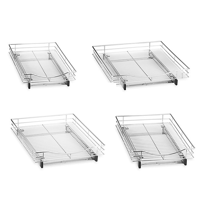 Lynk Professional Roll Out Under Sink Single Drawer Bed Bath Beyond