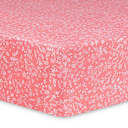 Trend Lab® Prairie Fitted Crib Sheet in Pink