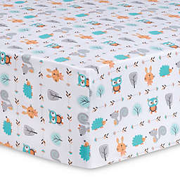 Trend Lab® Forest Babies Fitted Crib Sheet