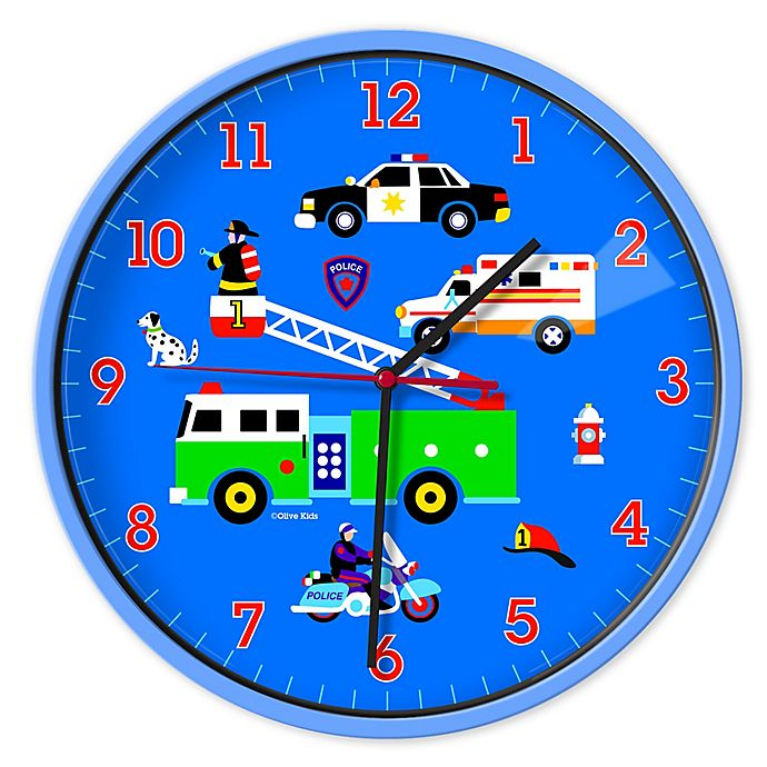 Alternate image 1 for Olive Kids Heroes Wall Clock