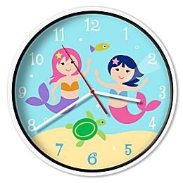 Olive Kids™ Mermaids Wall Clock
