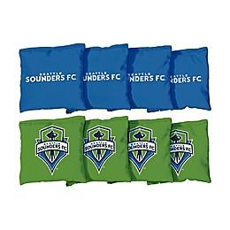 MLS Seattle Sounders Regulation Cornhole Bags (Set of 8)