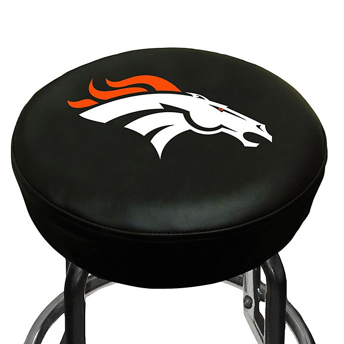 Buy Nfl Denver Broncos Bar Stool Cover From Bed Bath Amp Beyond