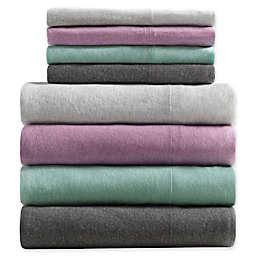 Urban Habitat Heathered Cotton Jersey Knit Sheet Set