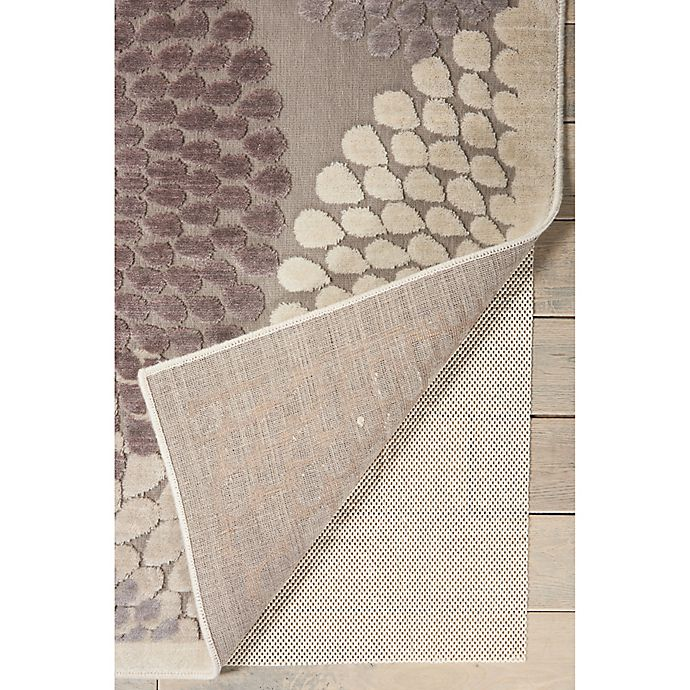 Alternate image 1 for Nourison Firm Grip 4-Foot 8-Inch x 7-Foot 6-Inch Rug Pad in Ivory