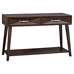 Standard Furniture Forsythe Console Table in Merlot