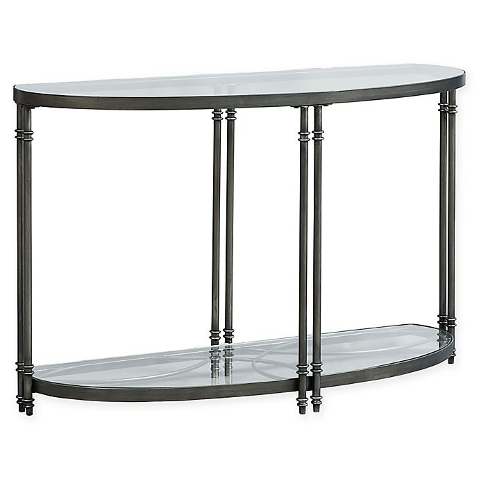 Alternate image 1 for Standard Furniture Terrazza Console Table in Brushed Nickel