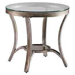 Standard Furniture Cole End Table in Champagne