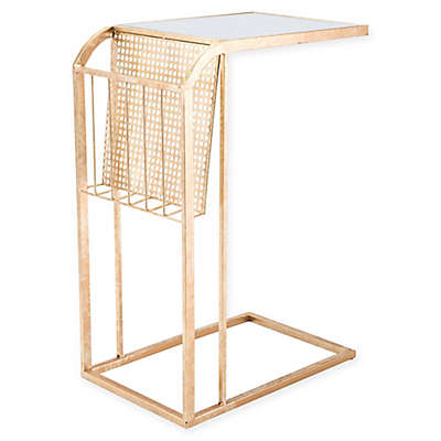 Zuo® Small Metal Magazine Table in Gold